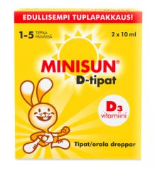 MINISUN DROPS X2X10 ML