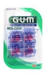 GUM 824MA RED COTE VÄRITABLETTI X12 KPL