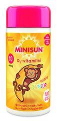 MINISUN D-VITAMIINI 10 MIKROG JUNIOR APINA BANAANI 100 PURUTABL