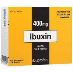 IBUXIN 400 mg jauhe 10 kpl