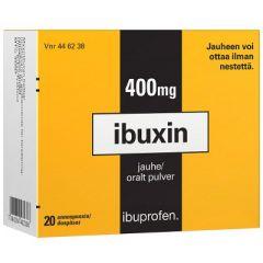 IBUXIN 400 mg jauhe 20 kpl