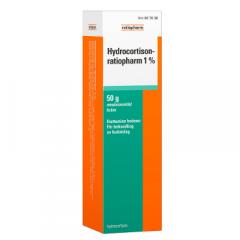 HYDROCORTISON-RATIOPHARM 1 % emuls voide 50 g